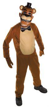 Boy's Freddy Costume - Five Nights At Freddy's - Child Medium