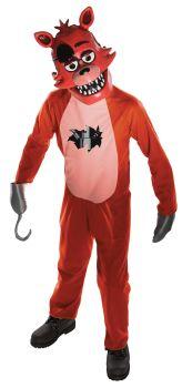 Boy's Foxy Costume - Five Nights At Freddy's - Child Medium