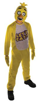 Boy's Chica Costume - Five Nights At Freddy's - Child Large