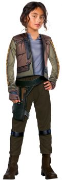 Girl's Deluxe Jyn Erso Costume - Star Wars: Rogue One - Child Large