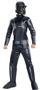 Boy's Deluxe Death Trooper Costume - Star Wars: Rogue One - Child Medium