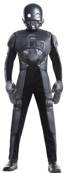 Boy's Deluxe K-2SO Costume - Star Wars: Rogue One - Child Small