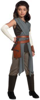 Girl's Deluxe Rey The Last Jedi Costume - Star Wars VIII - Child Small