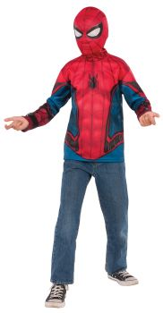 Spider-Man Shirt & Mask - Child Small