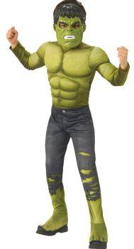 Boy's Deluxe Hulk Costume - Child Large