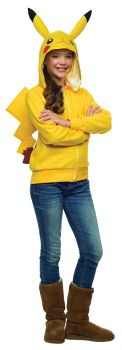 Pikachu Hoodie With Tail - Pokémon - Teen Medium