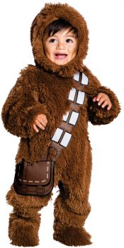 Deluxe Chewbacca Baby Costume - Toddler Large (2 - 4T)