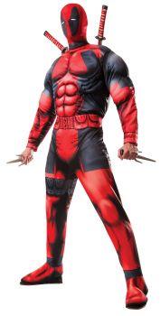 Men's Deluxe Deadpool Costume - Adult X-Large