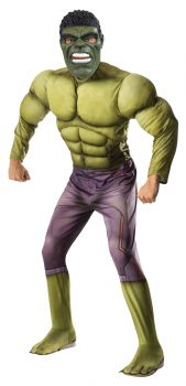 Men's Deluxe Muscle Hulk Costume - Adult OSFM
