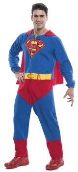 Men's Superman Romper Costume - Adult X-Large
