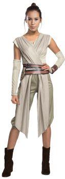 Women's Deluxe Rey Costume - Star Wars VII - Adult Medium