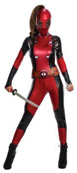 Women's Deadpool Costume - Adult Small