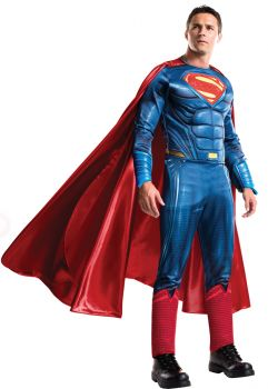 Men's Grand Heritage Superman Costume - Dawn Of Justice - Adult X-Large