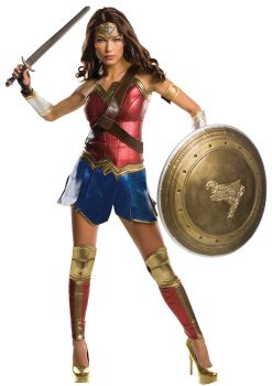 Women's Grand Heritage Wonder Woman Costume - Dawn Of Justice - Adult Large