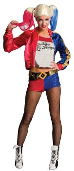 Women's Harley Quinn Costume - Suicide Squad - Adult Large