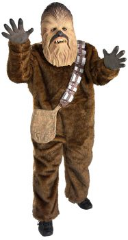 Boy's Deluxe Chewbacca Costume - Star Wars Classic - Child Large