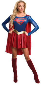 Women's Supergirl Costume - Supergirl TV Show - Adult Small