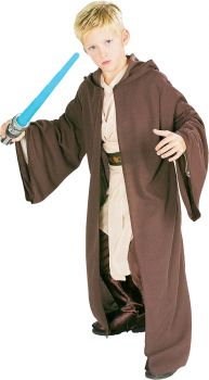Boy's Deluxe Jedi Knight Robe Costume - Star Wars Classic - Child Large