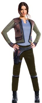 Women's Deluxe Jyn Erso Costume - Star Wars: Rogue One - Adult Small