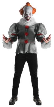 Men's Deluxe Pennywise Costume - IT - Adult OSFM