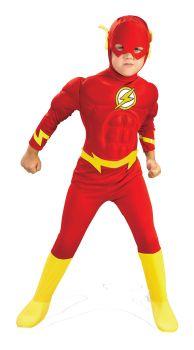 Boy's Deluxe Flash Costume - Child Medium