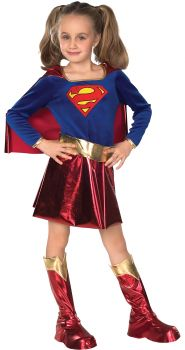 Girl's Deluxe Supergirl Costume - Child Small