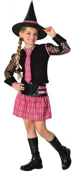Girl's Drama Queen Ex-Spelled Costume - Child Large