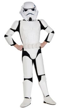 Boy's Deluxe Stormtrooper Costume - Star Wars Classic - Child Large