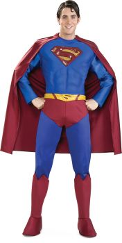 Men's Supreme Superman Costume - Adult X-Large