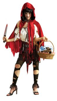 Women's Lil Dead Riding Hood Costume - Adult OSFM