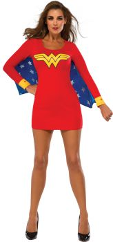 Women's Wonder Woman Wing Dress - Adult Small