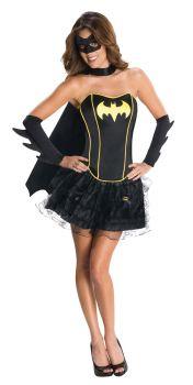 Women's Batgirl Corset Costume - Adult Large