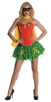Women's Robin Flirty Corset Costume - Adult Large