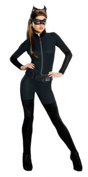 Women's Catwoman Costume - Dark Knight Trilogy - Adult Large