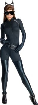 Women's Deluxe Catwoman Costume - Dark Knight Trilogy - Adult Small