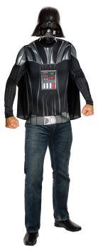 Darth Vader T-Shirt & Mask - Star Wars Classic - Adult Medium