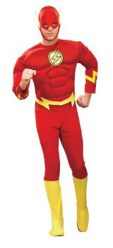 Men's Muscle Chest Flash Costume - Adult Large