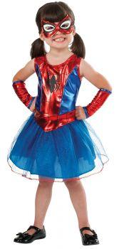 Girl's Spider-Girl Tutu Dress - Child Small