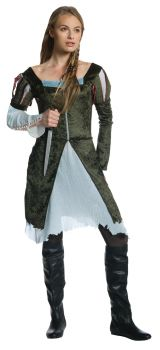 Women's Snow White Costume - Snow White & The Huntsman - Adult Small
