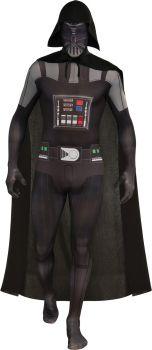 Men's Darth Vader Skin Suit - Star Wars Classic - Adult Large