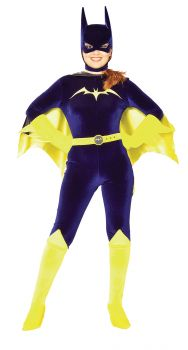 Women's Batgirl Gotham Girls Costume - Gotham Girls - Adult Medium