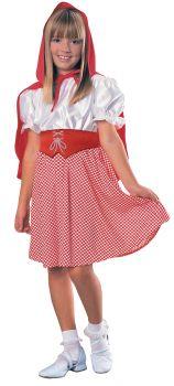 Girl's Red Riding Hood Costume - Child Medium