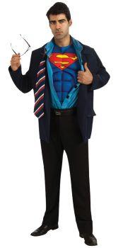 Men's Clark Kent / Superman Costume - Adult X-Large