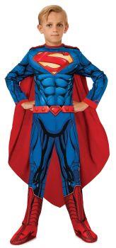 Boy's Photo-Real Superman Costume - Child Medium