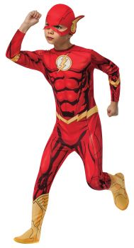 Boy's Photo-Real Flash Costume - Child Large