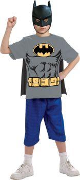 Batman T-Shirt With Cape - Child Large