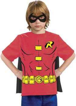 Robin T-Shirt With Cape - Child Medium