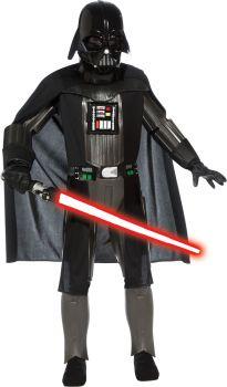 Boy's Deluxe Darth Vader Costume - Star Wars Classic - Child Small