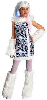 Girl's Abbey Bominable Costume - Monster High - Child Medium