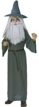 Boy's Gandalf Costume - The Hobbit - Child Medium